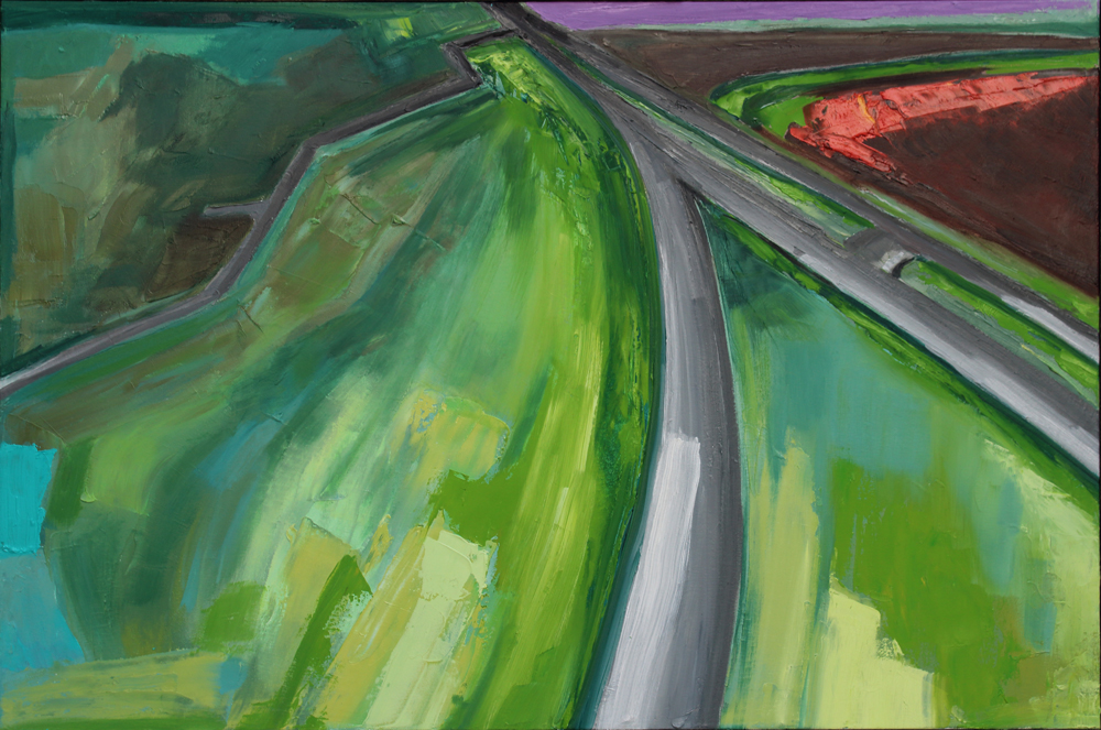 Abstract Highways painting, abstract expressionist painting, oil painting, art for sale, paintings for sale, wendydavispaintings.com, Wendy Davis Artist