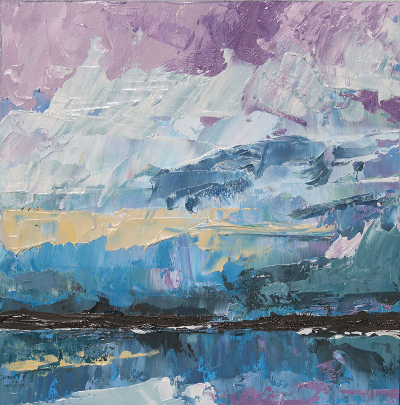 Purple haze abstract painting, oil painting, art for sale, paintings for sale, wendydavispaintings.com