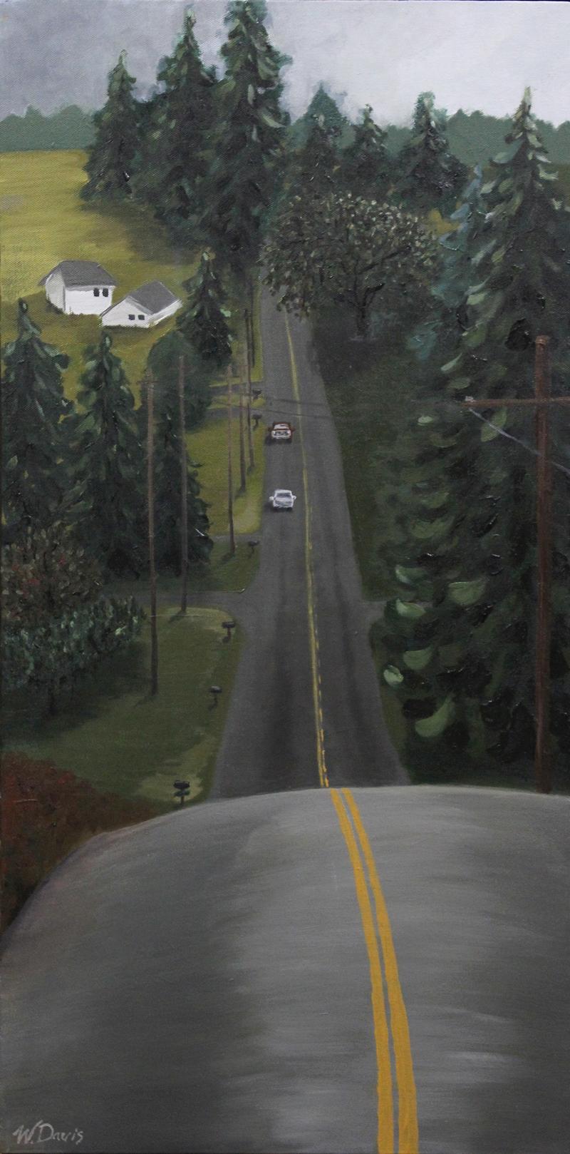 87th Avenue painting, abstract expressionist landscape, oil painting, art for sale, paintings for sale, wendydavispaintings.com, Wendy Davis Artist
